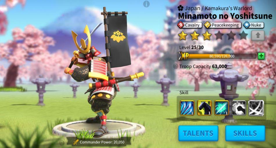 rise of kingdoms minamoto