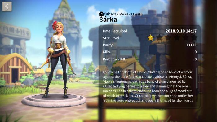 rise of kingdoms sarka