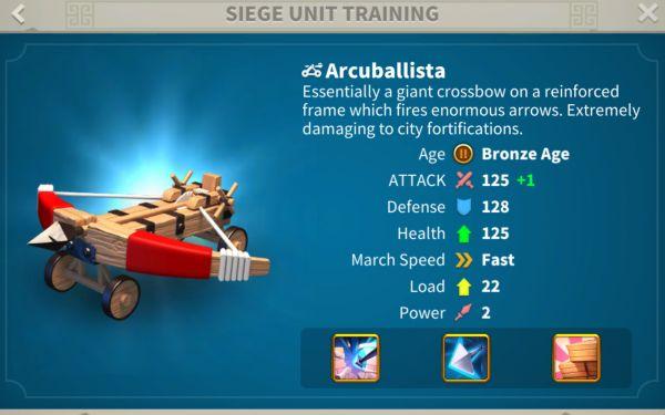 rise of kingdoms siege units 2