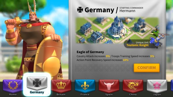 rise of kingdoms what nation to choose 2